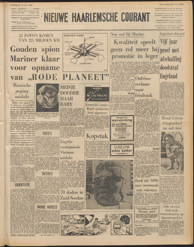 Nieuwe Haarlemsche Courant 1965-07-14