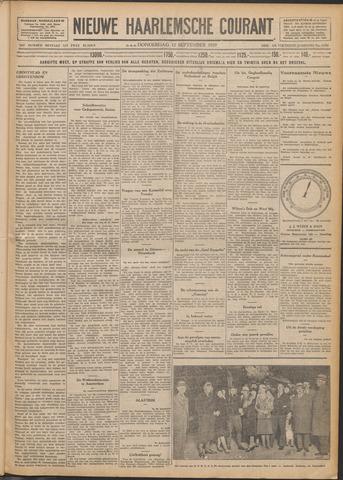 Nieuwe Haarlemsche Courant 1929-09-12
