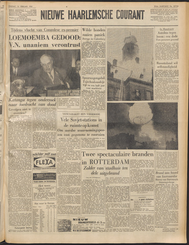 Nieuwe Haarlemsche Courant 1961-02-14