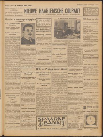 Nieuwe Haarlemsche Courant 1932-10-29