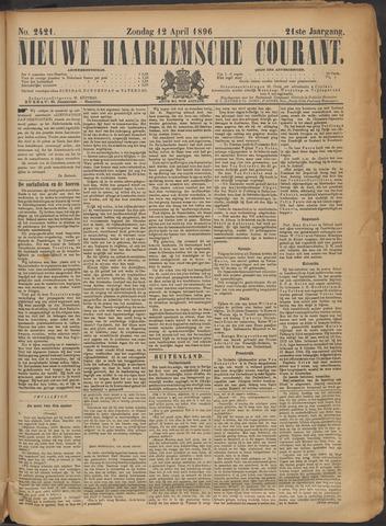 Nieuwe Haarlemsche Courant 1896-04-12