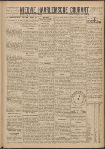 Nieuwe Haarlemsche Courant 1923-08-09