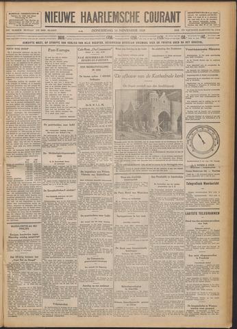 Nieuwe Haarlemsche Courant 1929-11-14