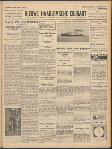 Nieuwe Haarlemsche Courant 1934-08-23