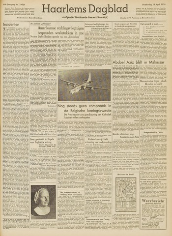 Haarlem's Dagblad 1950-04-13