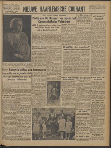 Nieuwe Haarlemsche Courant 1948-04-20