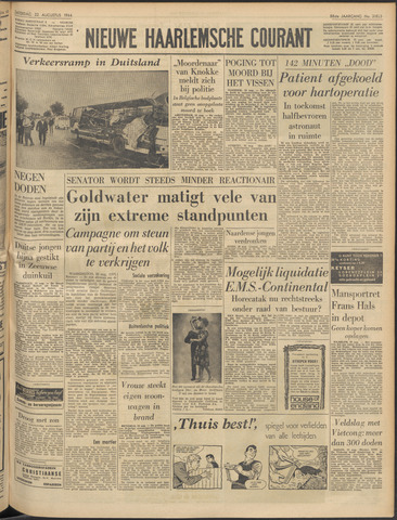 Nieuwe Haarlemsche Courant 1964-08-22