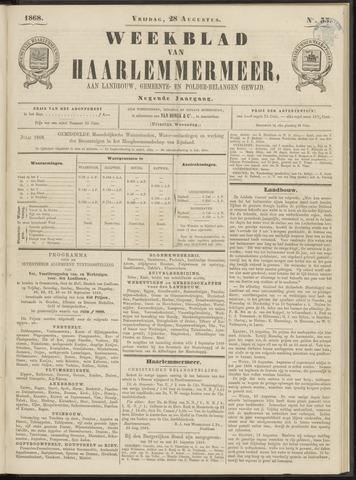 Weekblad van Haarlemmermeer 1868-08-28