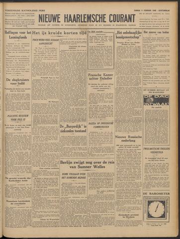 Nieuwe Haarlemsche Courant 1940-02-11