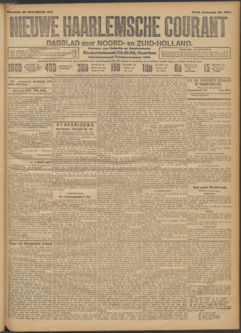 Nieuwe Haarlemsche Courant 1912-12-20
