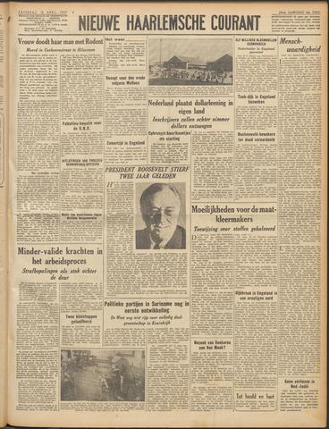 Nieuwe Haarlemsche Courant 1947-04-12