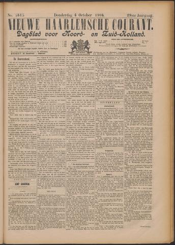 Nieuwe Haarlemsche Courant 1904-10-06