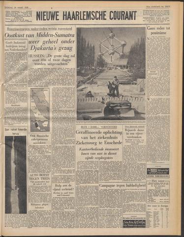 Nieuwe Haarlemsche Courant 1958-03-29