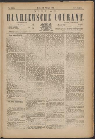 Nieuwe Haarlemsche Courant 1890-02-16