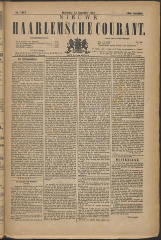 Nieuwe Haarlemsche Courant 1892-11-23
