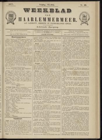 Weekblad van Haarlemmermeer 1877-07-13
