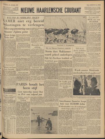 Nieuwe Haarlemsche Courant 1959-10-28