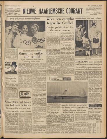 Nieuwe Haarlemsche Courant 1960-02-25