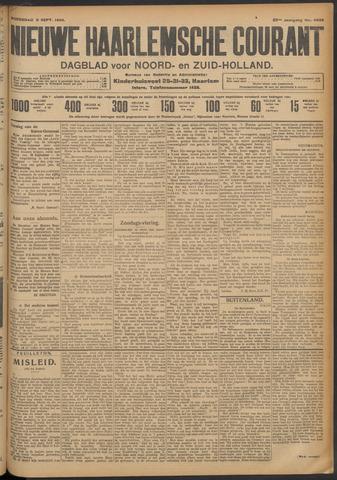 Nieuwe Haarlemsche Courant 1908-09-09