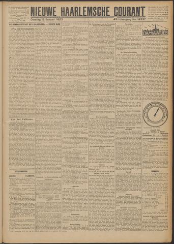 Nieuwe Haarlemsche Courant 1923-01-16