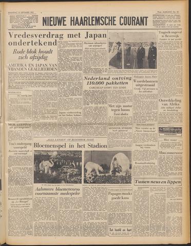 Nieuwe Haarlemsche Courant 1951-09-10