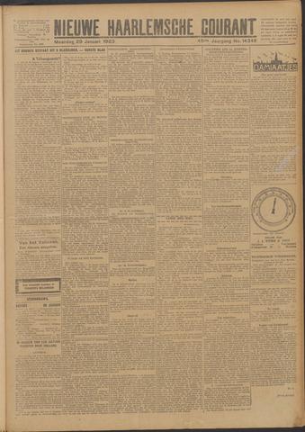Nieuwe Haarlemsche Courant 1923-01-29