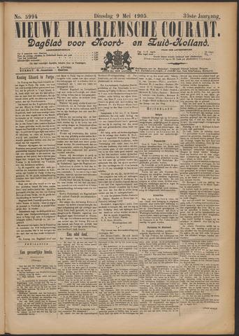 Nieuwe Haarlemsche Courant 1905-05-09