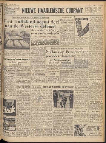 Nieuwe Haarlemsche Courant 1952-02-09