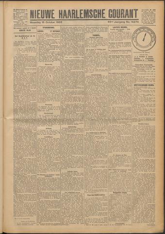 Nieuwe Haarlemsche Courant 1922-10-16