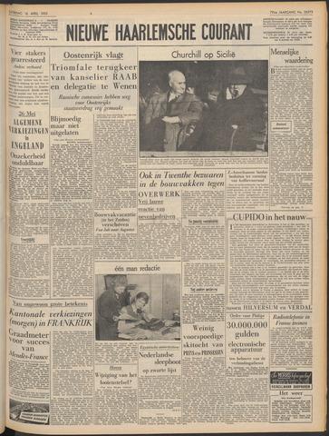 Nieuwe Haarlemsche Courant 1955-04-16
