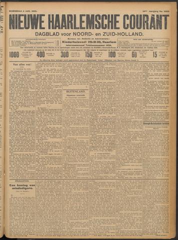 Nieuwe Haarlemsche Courant 1909-08-04