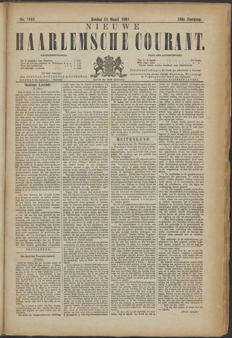 Nieuwe Haarlemsche Courant 1891-03-22
