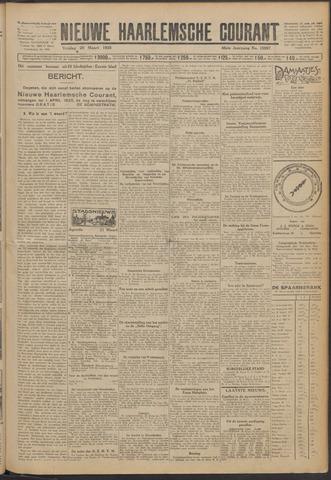 Nieuwe Haarlemsche Courant 1925-03-20