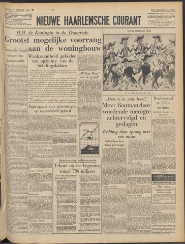 Nieuwe Haarlemsche Courant 1956-09-18