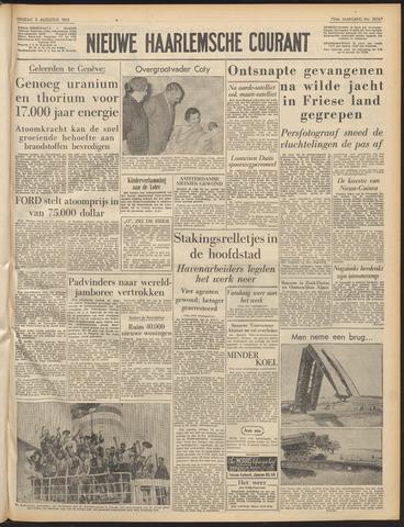 Nieuwe Haarlemsche Courant 1955-08-09