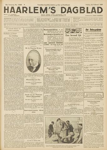 Haarlem's Dagblad 1935-02-22