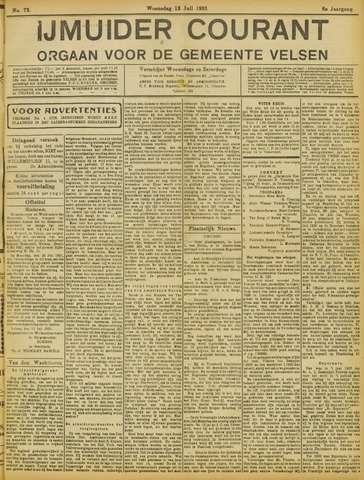 IJmuider Courant 1921-07-13