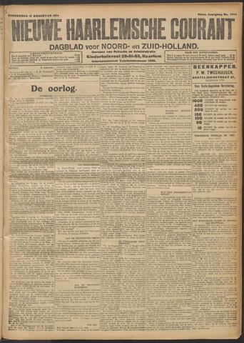 Nieuwe Haarlemsche Courant 1914-08-13