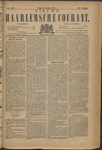 Nieuwe Haarlemsche Courant 1892-10-14