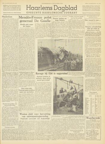 Haarlem's Dagblad 1954-10-14