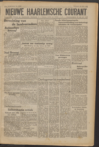 Nieuwe Haarlemsche Courant 1945-06-15