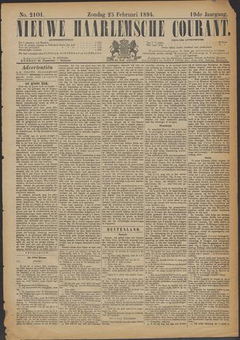 Nieuwe Haarlemsche Courant 1894-02-25