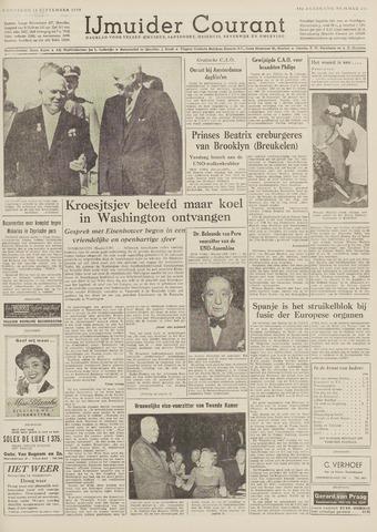 IJmuider Courant 1959-09-16