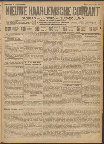 Nieuwe Haarlemsche Courant 1913-02-12
