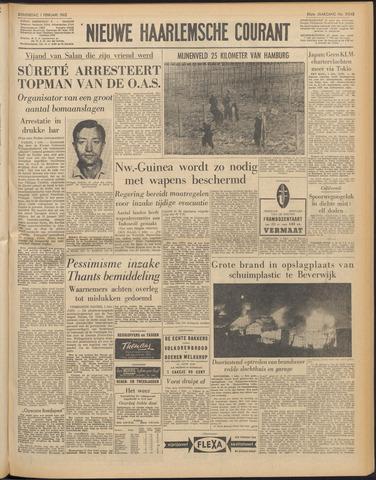 Nieuwe Haarlemsche Courant 1962-02-01
