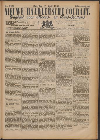 Nieuwe Haarlemsche Courant 1905-04-15