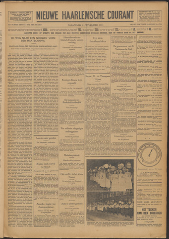 Nieuwe Haarlemsche Courant 1931-11-02