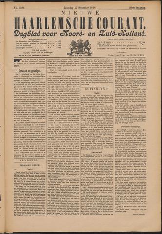 Nieuwe Haarlemsche Courant 1898-09-17