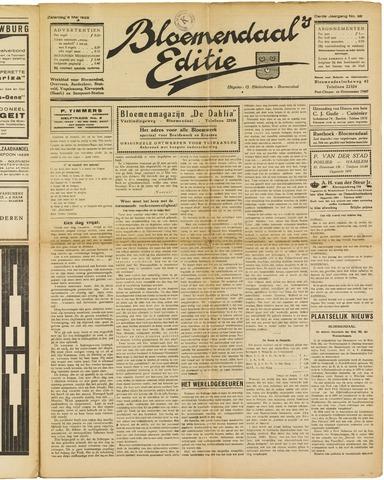 Bloemendaal's Editie 1928-05-05
