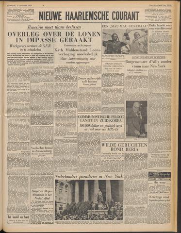 Nieuwe Haarlemsche Courant 1953-09-21